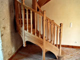 fabrication escalier traditionnel en bois